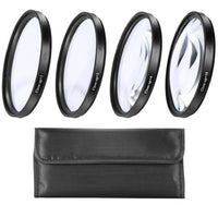67mm Close-Up Filter Set (+1, 2, 4 and +10 Diopters) for Canon Rebel T6i, T6s, T7i, EOS 80D, EOS 77D Cameras with Canon EF-S 18-135mm is STM Lens