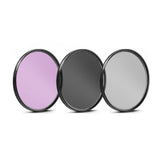 67mm 3 Piece Filter Kit (UV-CPL-FLD) for Select Canon, Nikon, Sony, FujiFilm, Olympus, Pentax, Sigma, Tamron Digital Cameras, Lenses, and Camcorders