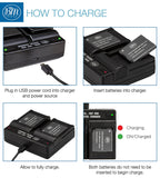 BM 2 NB-11LH Batteries and Dual Battery Charger for Canon Elph 190, Elph 320, Elph 340, Elph 350, Elph 360, A2600 A3400 A4000 SX400 SX410 SX420 Camera