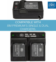 BM 2 NB-11LH Batteries for Canon PowerShot A2300 A2400 A2600 A3400 A4000 SX400 SX410 SX420 Cameras