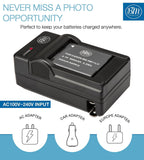 BM Premium NB-11LH Battery and Charger for Canon PowerShot Elph 320 Elph 340 Elph 350 Elph 360 A2300 A2400 A2600 A3400 A4000 SX400 SX410 SX420 Cameras