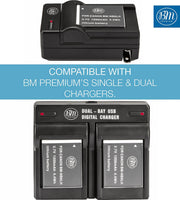 BM NB-6LH Battery for Canon PowerShot S120 SX170 IS SX260 SX280 SX500 SX510 SX520 SX530 SX540  SX600 SX610 SX700 SX710 ELPH 500 D10 D20 D30 Cameras