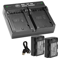BM 4 NP-FZ100 Batteries and Dual Bay Charger for Sony a7S III, a6600, a7R IV, A7R III, A7R3, a7 III, Alpha A9, Alpha a9 II, Alpha 9R, Alpha 9S Cameras