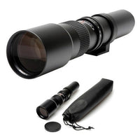 High-Power 500mm/1000mm f/8 Manual Telephoto Lens for Nikon Z6, Z7 Mirrorless Cameras