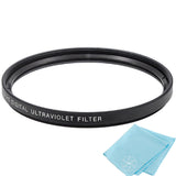 95mm UV Protective Filter for Canon, Nikon, FujiFilm, Olympus, Panasonic, Pentax, Sigma, Sony, Tamron Cameras and Camcorders