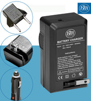 BM Premium SLB-10A Battery and Charger for Samsung SL202, SL203, SL310, SL310W, SL420, SL502, SL620, SL720, SL820 TL9, WB150, WB150F, WB200 Cameras