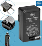 BM Premium DMW-BCM13 Battery Charger for Panasonic Lumix DC-TS7, DMC-FT5A, LZ40, TS5, TS6, TZ37, TZ40, TZ41, TZ55, DMC-TZ60 Cameras