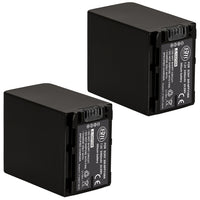 BM Premium 2 Pack of NP-FV100A High Capacity Battery for Sony Handycam Camcorders