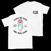 Load image into Gallery viewer, Fear No Evil T-Shirt (White)