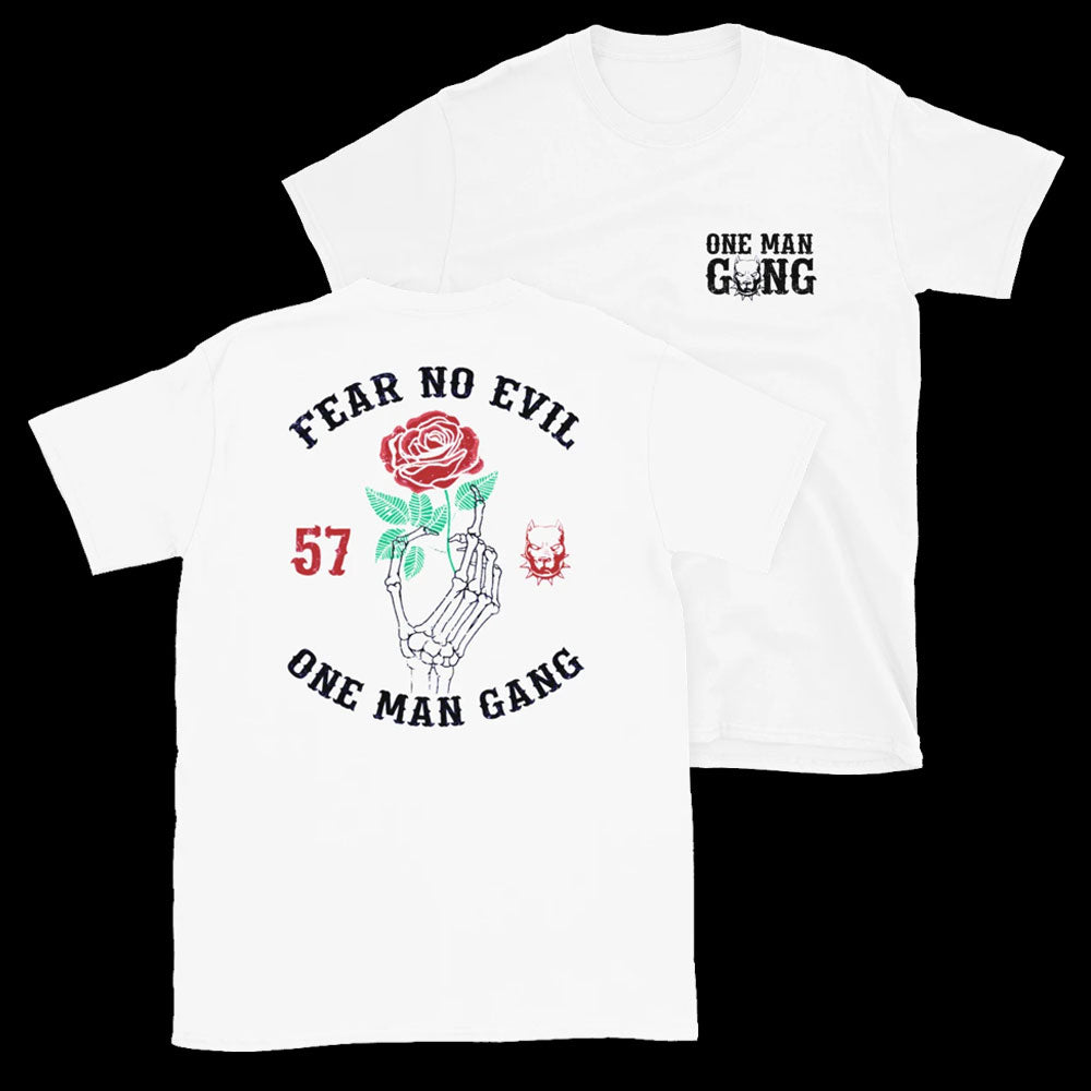 Fear No Evil T-Shirt (White)