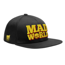 Load image into Gallery viewer, Mad World Snapback Hat PRE-ORDER