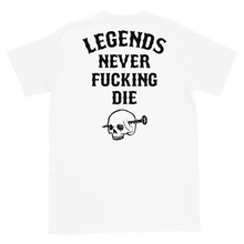 Load image into Gallery viewer, Legends Never Die T-Shirt (White)
