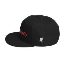 Load image into Gallery viewer, Family By Loyalty Snapback Hat (Black/Red)
