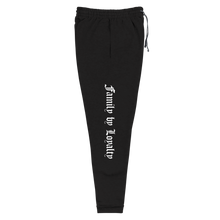 Load image into Gallery viewer, Family by Loyalty Joggers (Black)