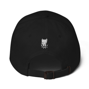 Family By Loyalty Dad Hat (Black/White)