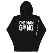 Load image into Gallery viewer, One Man Gang Logo Hoodie (Black)