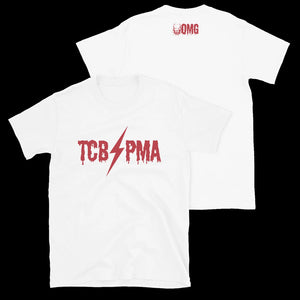 TCB-PMA T-Shirt (White/Red)