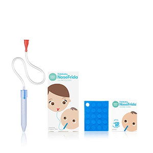Baby Nasal Aspirator NoseFrida the Snotsucker with 20 Extra Hygiene Filters by Frida Baby - Nerds Guide to FI