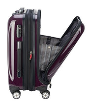 Load image into Gallery viewer, DELSEY Paris Helium Aero Hardside Expandable Luggage with Spinner Wheels, Plum Purple, Carry-On 19 Inch - Nerds Guide to FI