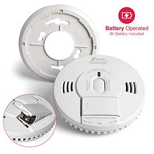 Load image into Gallery viewer, Kidde 21028499 DC Smoke and Carbon Monoxide Alarm Detector with TruSense Technology | Front Load Battery | Voice Notification | Model 2070-VDSCR, White - Nerds Guide to FI