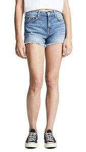 7 For All Mankind Women's Cutoff Shorts, Desert Oasis 9, Blue, 23 - Nerds Guide to FI