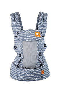 Baby Tula Coast Explore Mesh Baby Carrier, Adjustable Newborn to Toddler Carrier, Ergonomic and Multiple Positions for 7 – 45 pounds (Coast Graphite) - Nerds Guide to FI