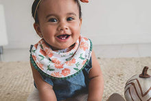 "Load image into Gallery viewer, Baby Bandana Drool Bibs for Drooling and Teething 2-Pack Fashion Bibs Gift Set for Girls ""Hazel"" by Copper Pearl - Nerds Guide to FI"