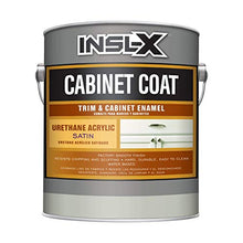 Load image into Gallery viewer, INSL-X CC550109A-01 Cabinet Coat Enamel, Satin Sheen Paint, 1 Gallon, White - Nerds Guide to FI