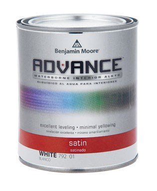 Benjamin Moore Advance Waterborne Satin Paint Quart - Nerds Guide to FI