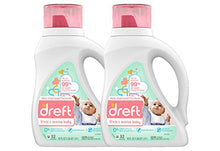 Load image into Gallery viewer, Dreft Stage 2: Active Hypoallergenic Liquid Baby Laundry Detergent for Baby, Newborn, or Infant, 50 Ounces(32 Loads), 2 Count (Packaging May Vary) - Nerds Guide to FI