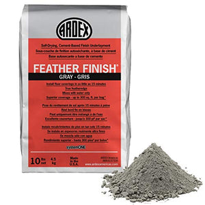 Ardex Feather Finish Grey/Gray/Gris Self-Drying Cement Based Bag 10 Lbs - Nerds Guide to FI