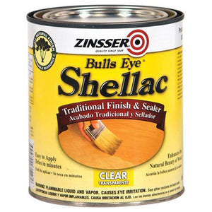 Rust-Oleum Zinsser 304H 1-Quart Bulls Eye Clear Shellac - Nerds Guide to FI