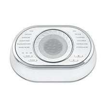 Load image into Gallery viewer, Ultra-Portable Rechargeable Sound Machine | 12 Relaxing Sleep Sounds , Auto-Off Timer, Adjustable Volume | Portable Sleep Therapy for Home , Office , Baby & Travel | HoMedics SoundSpa - Nerds Guide to FI