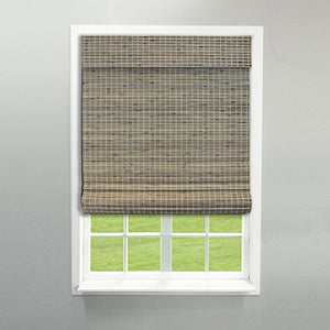 "RADIANCE 2208858E Cordless Roman Shade, 34"" W x 64"" L, Driftwood - Nerds Guide to FI"