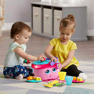 LeapFrog Shapes & Sharing Picnic Basket, Pink - Nerds Guide to FI