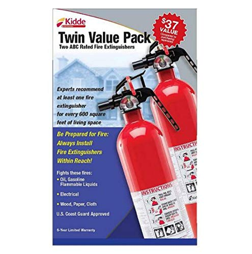 Kidde Multi-Purpose Fire Extinguisher, 2 pk. - Nerds Guide to FI