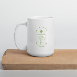 "NGFI ""VTSAX & chill"" White Glossy Mug - Nerds Guide to FI"