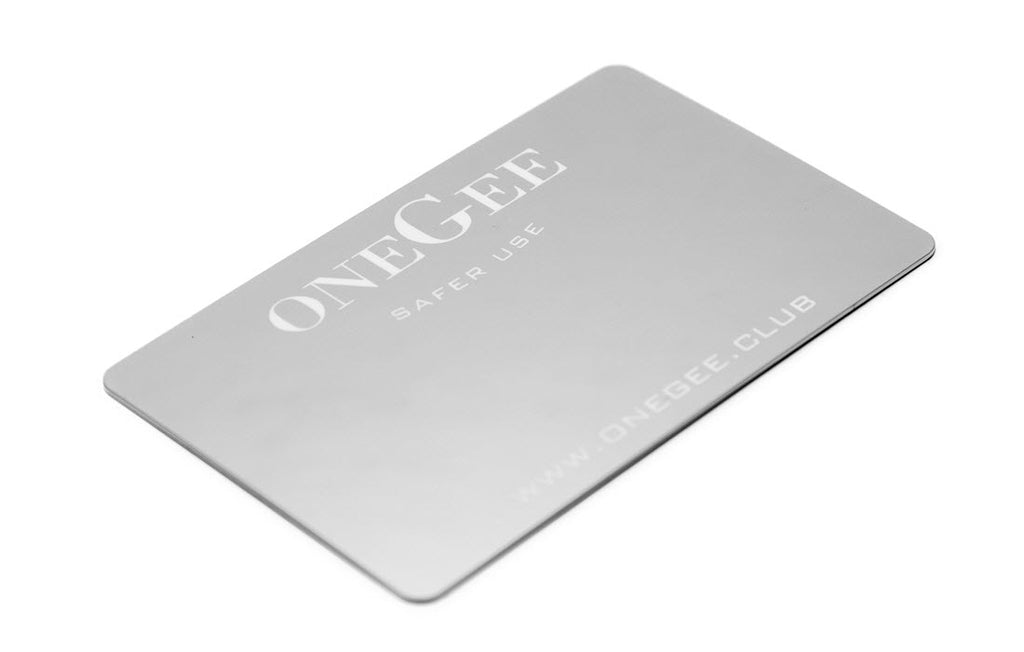 Get your free oneGee mirror card