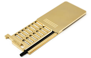 Snuff Accessoires Secure Box Slim 24C Gold