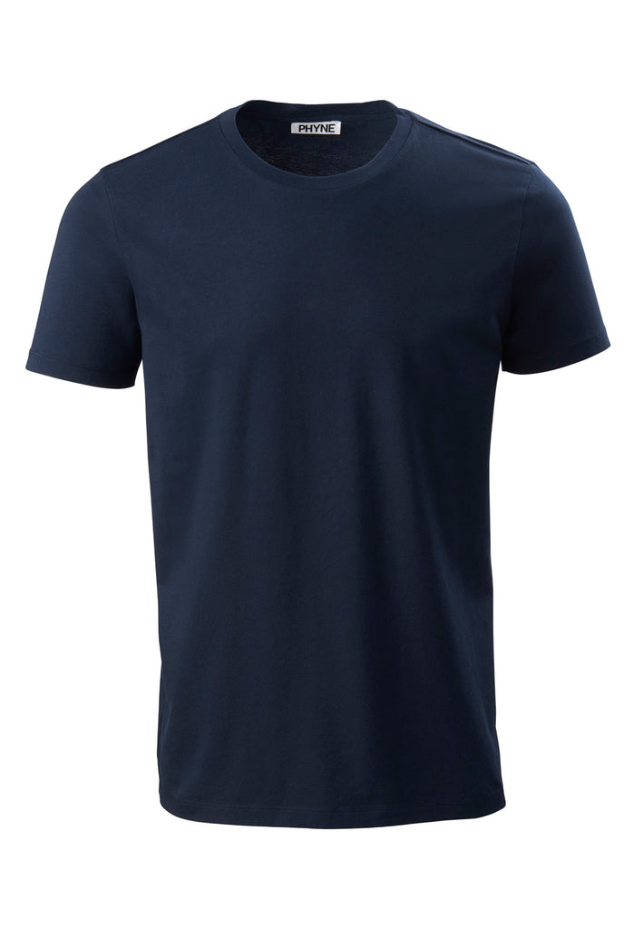 Navy| Round Neck T-Shirt navy