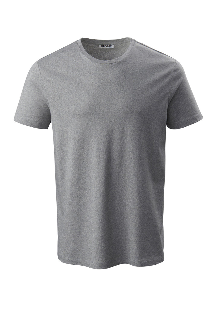 Grey| Round Neck T-Shirt grau