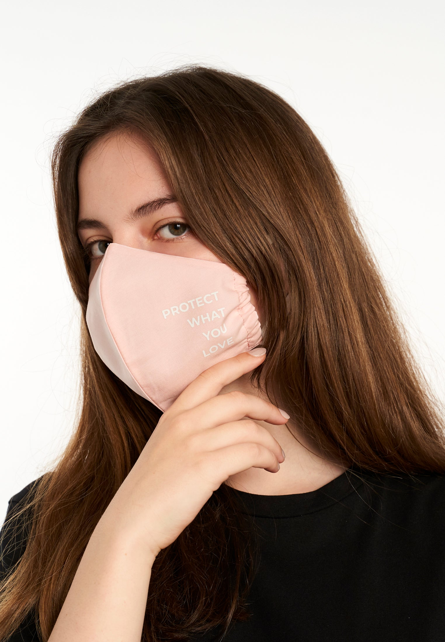 Maske Protect What You Love Soft Pink