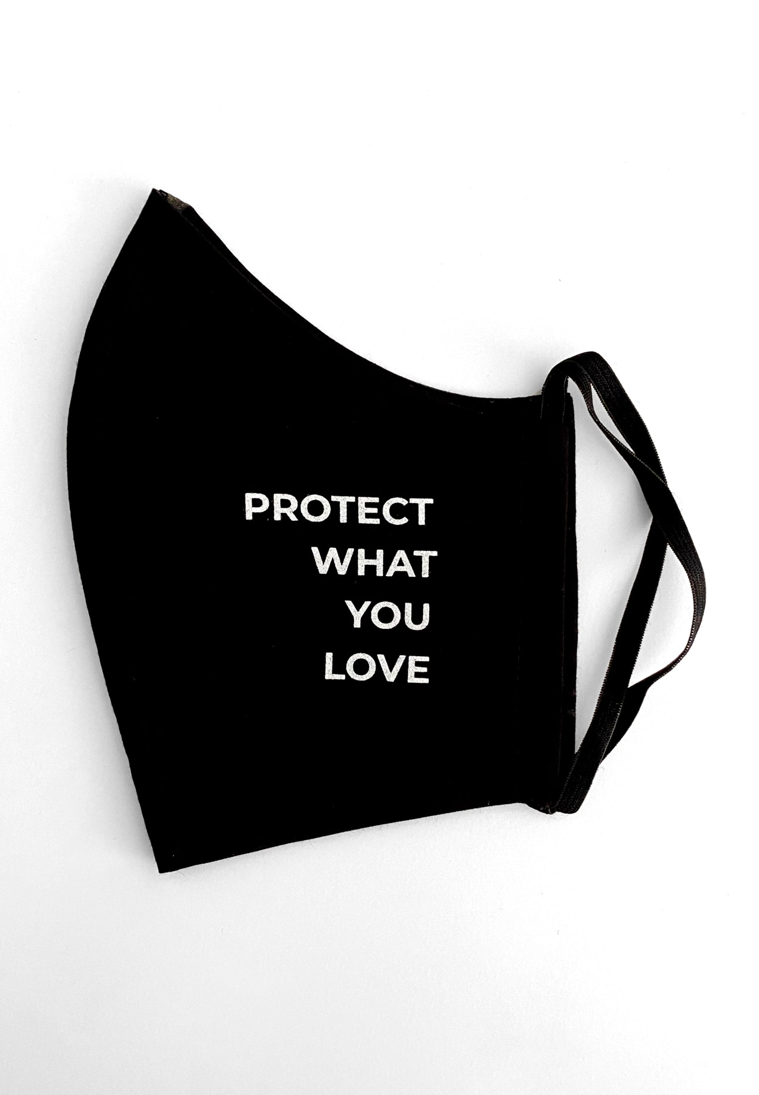 Maske Protect What You Love Black