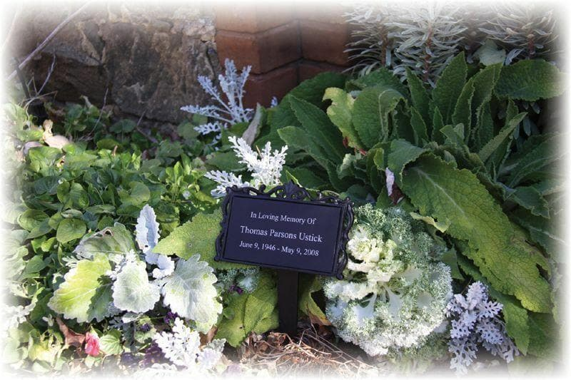 Garden Memorial-Plant a Tree-Engraving Included