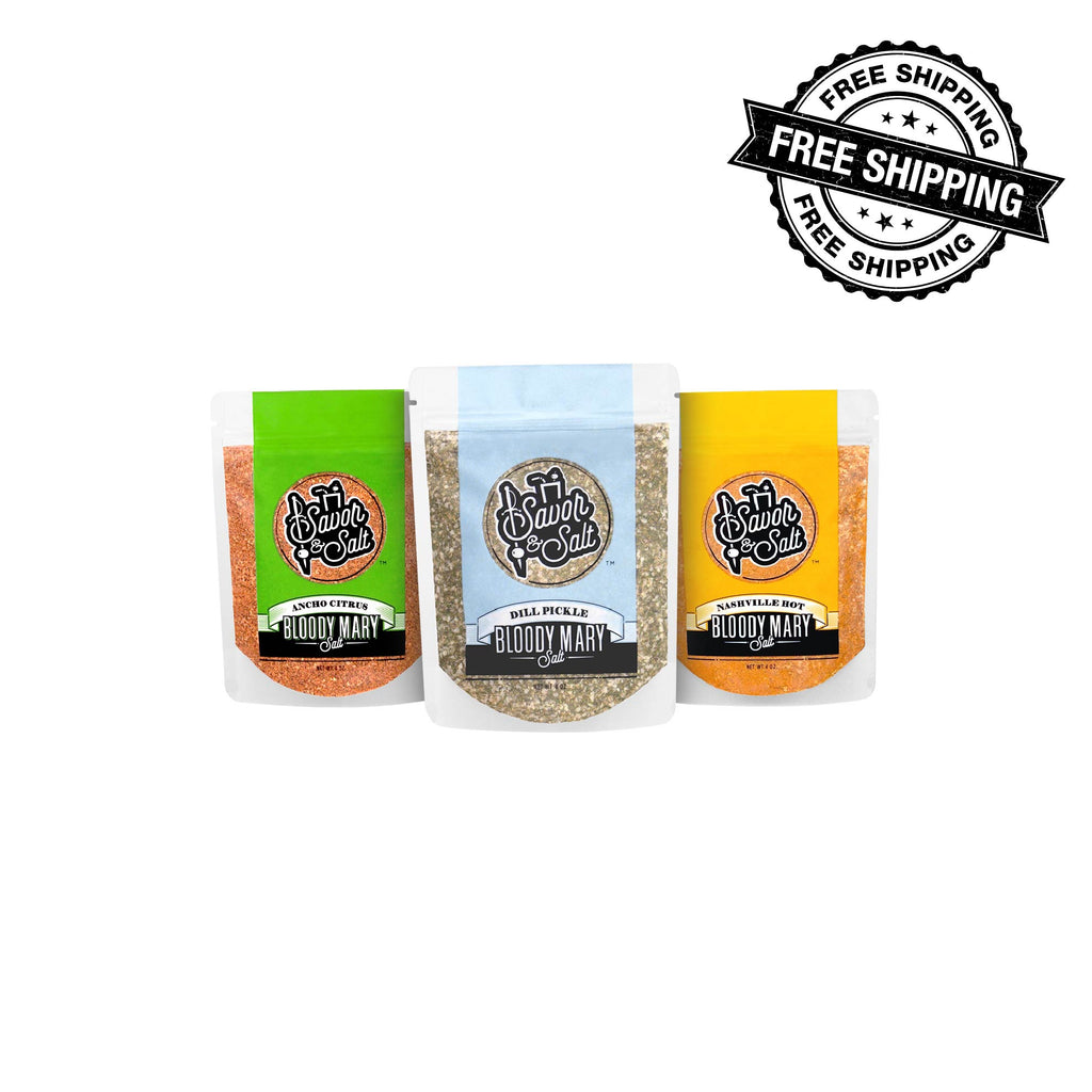 5 Pack Bloody Mary Salt