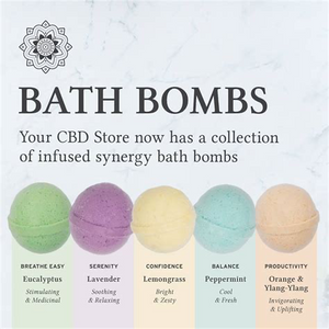 100mg CBD Bath Bomb