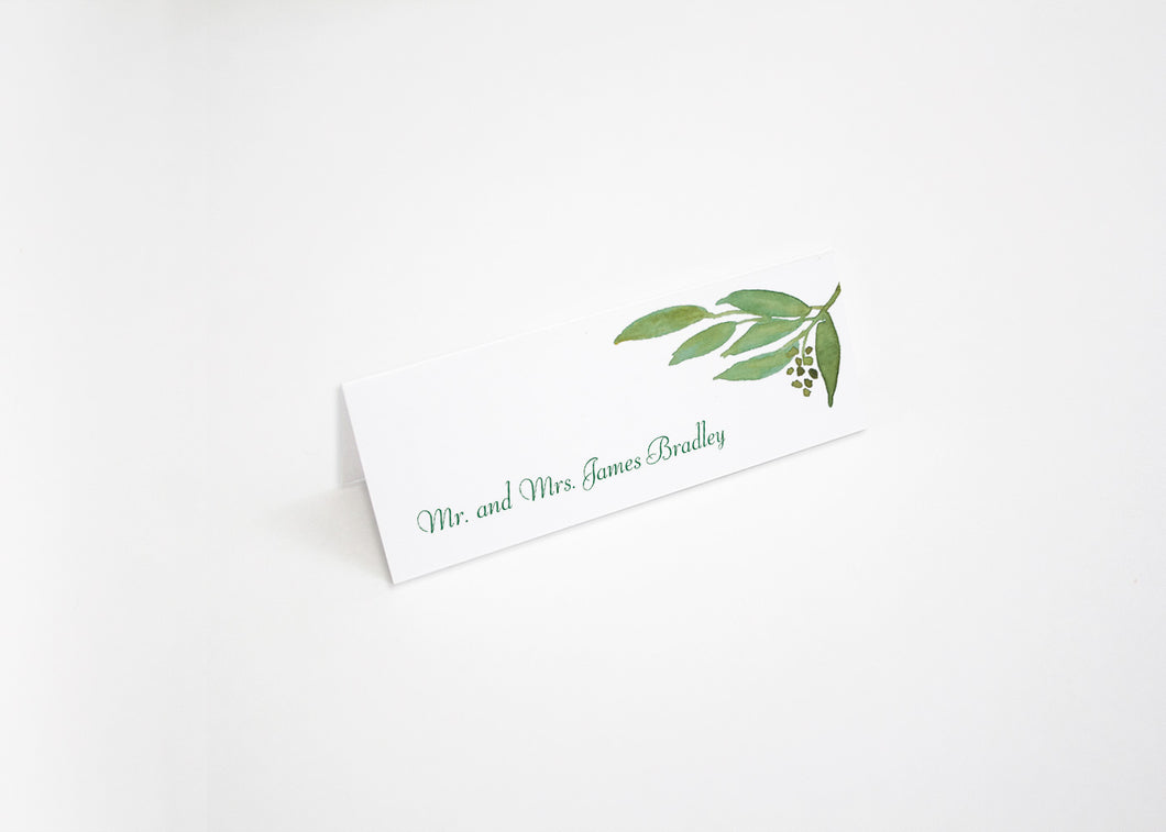 Botanical Bliss Escort/Place Card