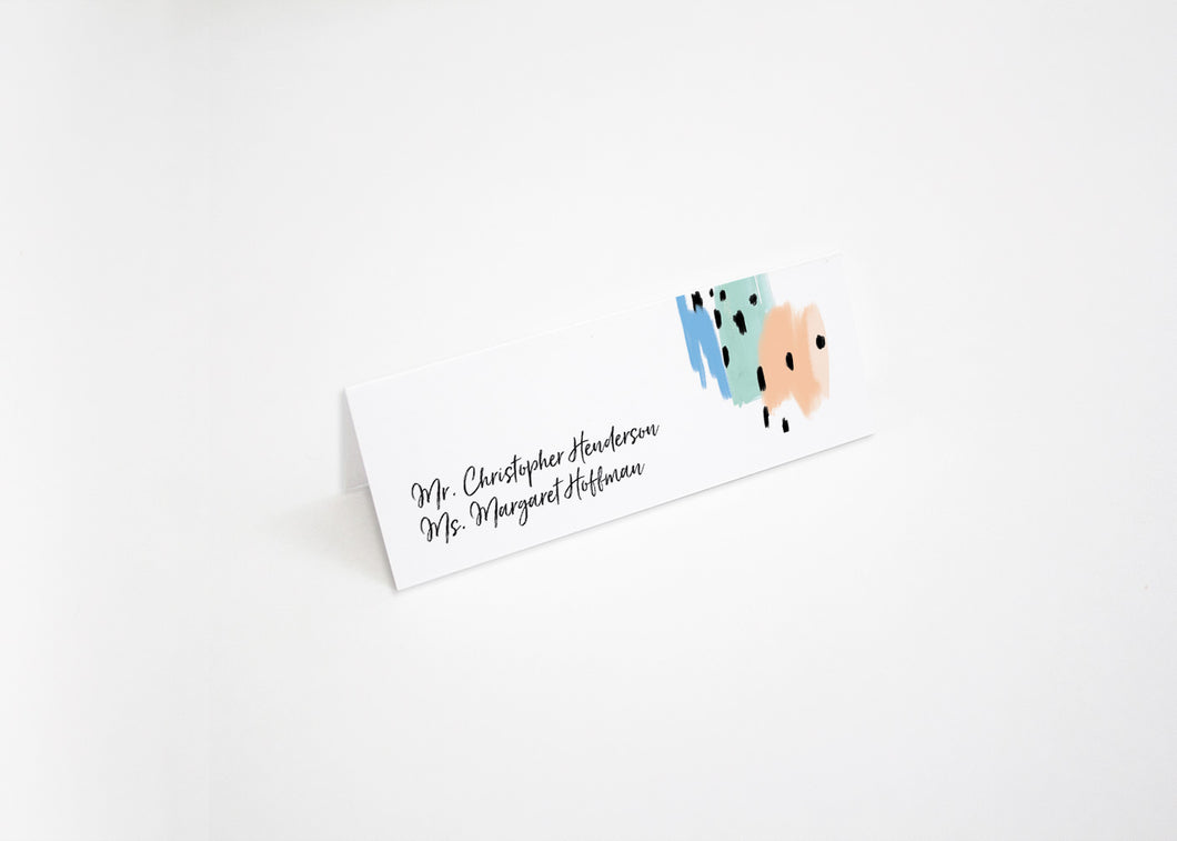 Modern Musings Escort/Place Card