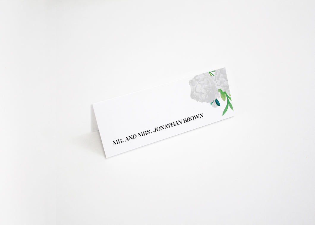Paradise Found Escort/Place Card