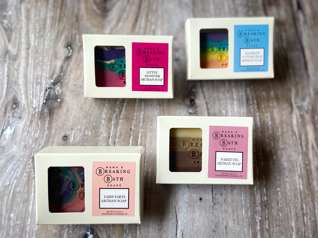 Four Sale Soaps for $20